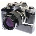 Nikon FM+105mm 2.8