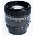 Nikon 85mm 1.8 AF Nikkor.