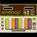 Аккумулятор Panasonic eneloop AA 1900 8HH mAh NI-MH Organic Colors